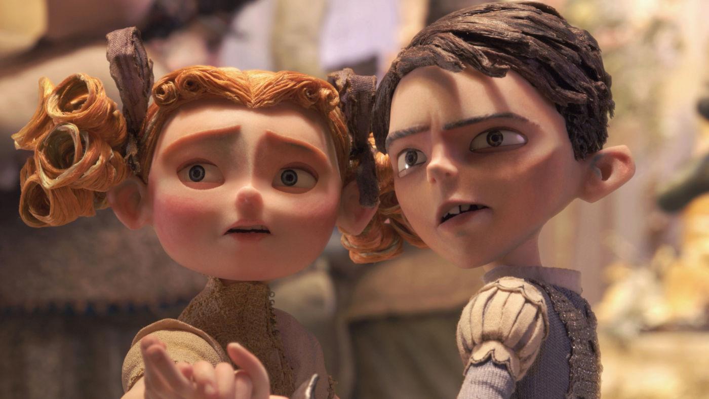 Кадр из мультфильма  компании Laika «Семейка монстров»