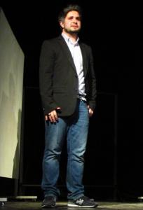 Антон Савосин тоже выступает на сцене. Фото: Барсукова Ира