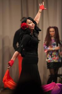 Татьяна Савосина в спектакле «Love's Labours lost» Источник фото: https://www.facebook.com/tania.savosina/photos?pnref=lhc
