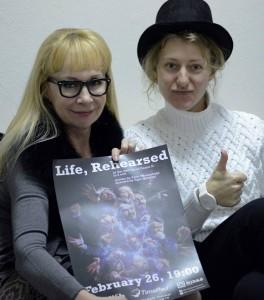 Олеся Кострицина и Татьяна Савосина. Источник фото: https://www.facebook.com/the.midas.theatre/photos_stream